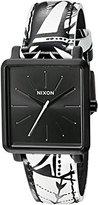 Nixon Women's A4722218-00 K Squared Analog Display Japanese Quartz Multi-Color Watch