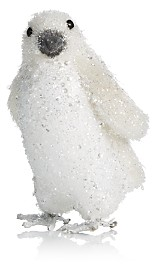 Bloomingdale's Glitter Penguin Figurine - 100% Exclusive