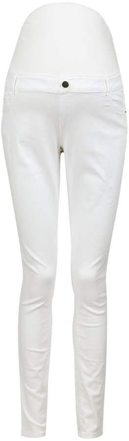 8fb6f9f9aae91 White Skinny Maternity Jeans - ShopStyle Australia