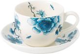 Wedgwood Blue Bird Teacup & Saucer