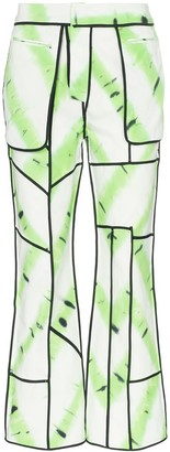 ASAI Jungle patchwork trousers