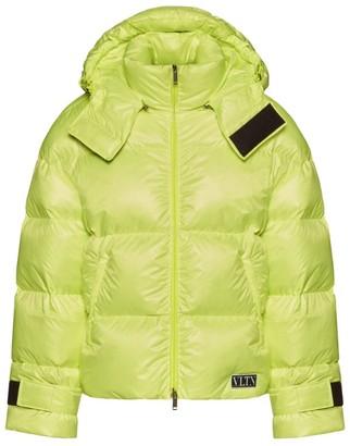 Valentino Hooded Puffer Jacket