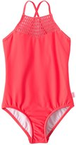 Seafolly Girls' Sundial Tank One Piece Swimsuit (614) - 8148024