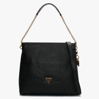 GUESS Destiny Black Hobo Bag