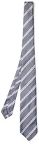 Dunhill Double-striped silk tie