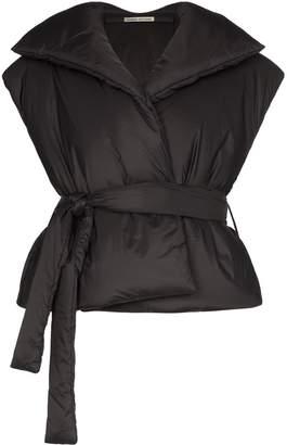 Samuel Gui Yang boss sleeveless puffer jacket