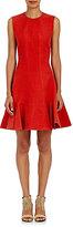 Lanvin Women's Linen Peplum Dress-RED