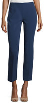 Michael Kors Slim-Leg Ankle Pants, Indigo