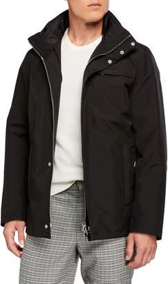 Prada Men's Nylon Quilted Puffer Jacket
