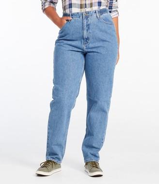 L.L. Bean Women's Double L Jeans, Relaxed Fit Comfort Waist