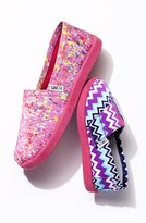 Toms 'Classic Youth - Paint Spatter' Slip-On (Toddler, Little Kid & Big Kid)