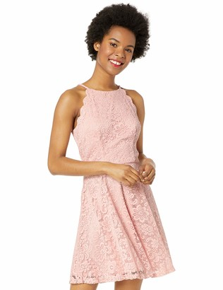 Amy Byer A. Byer Lace Fit and Flare Dress (Junior's)