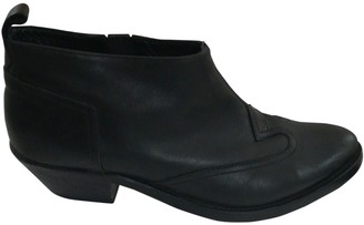 Golden Goose Black Leather Ankle boots