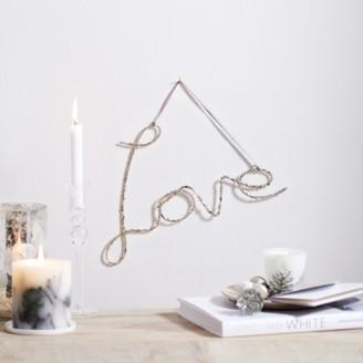 The White Company Glitter Love, Silver, One Size