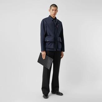 Burberry Logo Applique Nylon Field Jacket