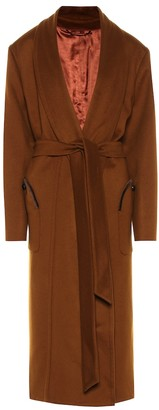 BLAZÉ MILANO Whistler wool and cashmere coat