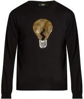 Fendi Light Bulb Long-sleeved Wool Sweater