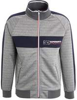 Superdry Tricot Track Tracksuit Top Dark Grey Grit/dark Navy