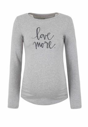 Bellybutton Women's T-Shirt 1/1 Arm Maternity Long Sleeve Top