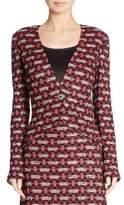 St. John Tweed Hi-Lo Jacket