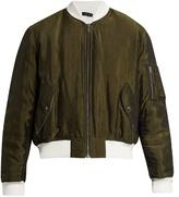 Haider Ackermann Cornwallis satin-twill bomber jacket