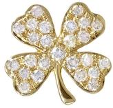 Sydney Evan Diamond Clover Stud Earring - Yellow Gold