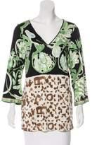 Emilio Pucci Knit Silk Top