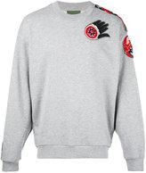 Amen mandala embellished sweatshirt - men - Cotton/Polyester - 48
