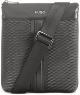 HUGO BOSS Men's Leather Future Embossed Envelope Pouch