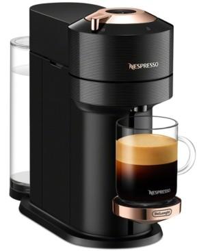 Nespresso Vertuo Next Premium Coffee and Espresso Maker by DeLonghi, Black Rose Gold