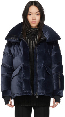 MONCLER GRENOBLE Navy Down Atena Jacket