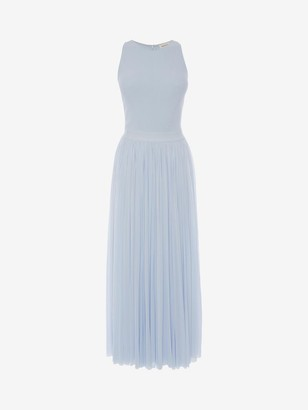 Alexander McQueen Jersey Midi Dress