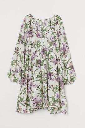 H&M A-line Dress - White