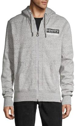 Superdry Full-Zip Cotton-Blend Hoodie