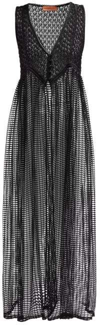 Missoni Mare - Mesh Cover Up - Womens - Black