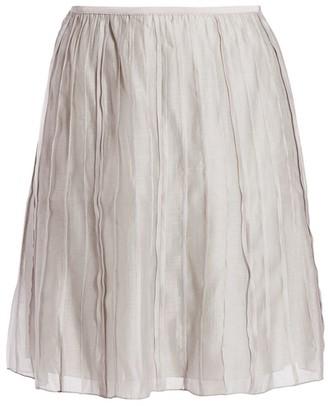 Batiste Flared Skirt