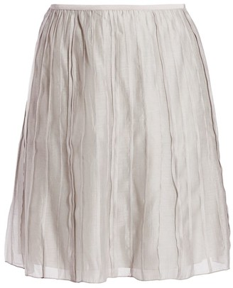 Nic+Zoe, Plus Size Batiste Flared Skirt