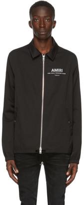 Amiri Black PF20 Coaches Jacket