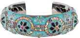 MCL by Matthew Campbell Laurenza Multicolor Sapphire Enamel Cuff