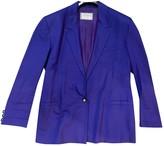 Versus Purple Cotton Jacket for Women