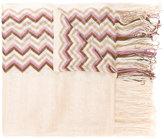 Missoni zig-zag knitted scarf - women - Viscose - One Size