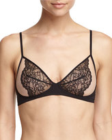 La Perla Charisma Soft Triangle Bra, Black