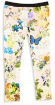 Roberto Cavalli Toddler's, Little Girl's & Girl's Floral-Print Leggings