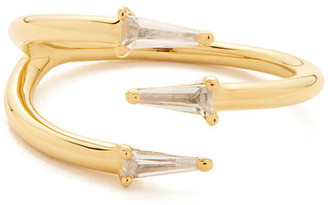 Bondeye Jewelry Bia White Topaz Spiral Ring