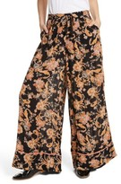 Free People Women's Bali Wildflower Wide Leg Pants