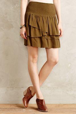 Anthropologie HD in Paris Swished Mini Skirt