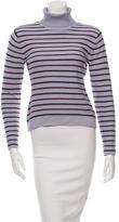 Sonia by Sonia Rykiel Patterned Turtleneck Sweater
