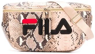 Fila Snakeskin-Effect Belt Bag
