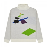 Gosha Rubchinskiy Geometry Turtleneck Sweater