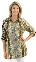 Jendi Animal Button Up Shirt
